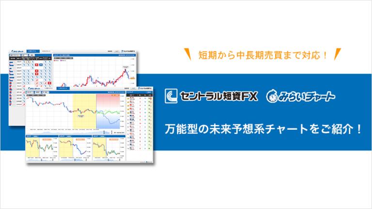 セントラル短資FXのみらいチャート 万能型の未来予想チャートをご紹介!