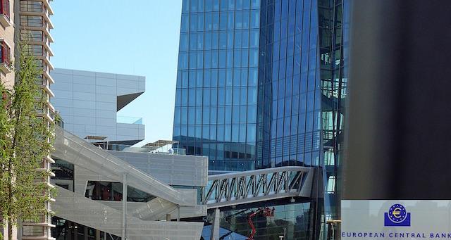 ドイツ・フランクフルトに位置するECB(欧州中央銀行)