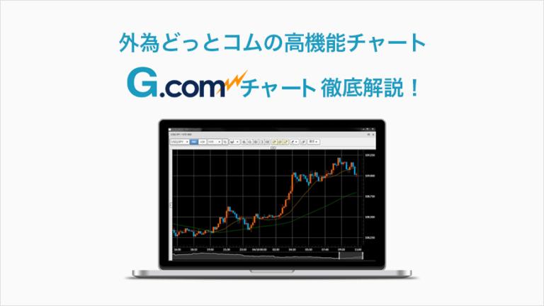 外為どっとコムの高機能チャート G.comチャート徹底解説!