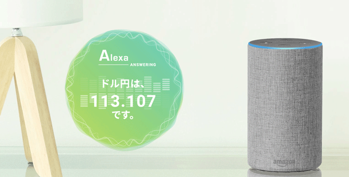 Amazon Alexa対応SKILL