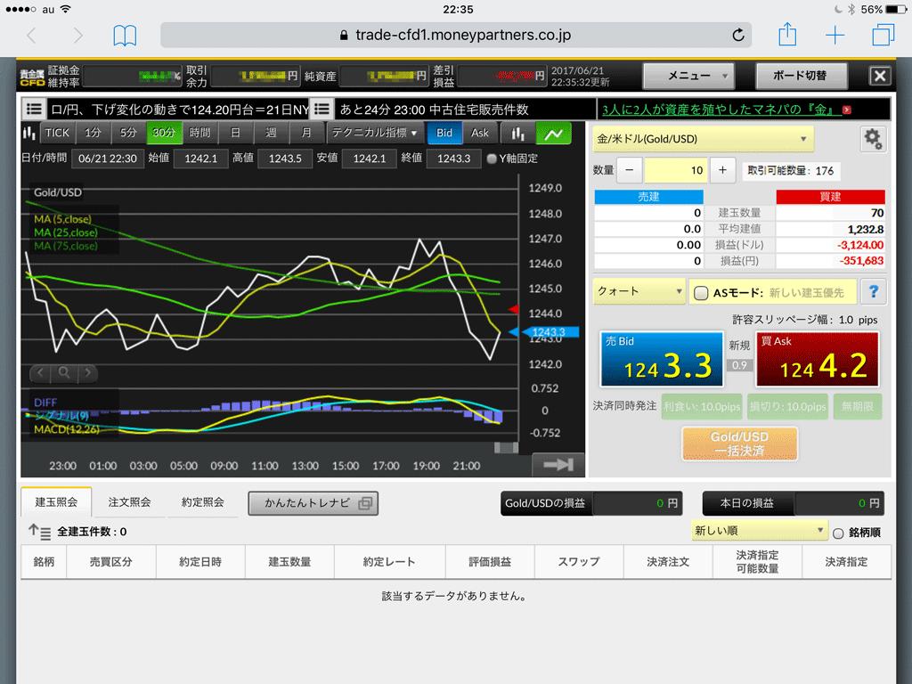 マネパの取引システムは、ブラウザ版ながらもiPhone・iPad・PCとマルチに対応!