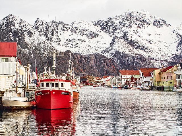 ノルウェーの景色