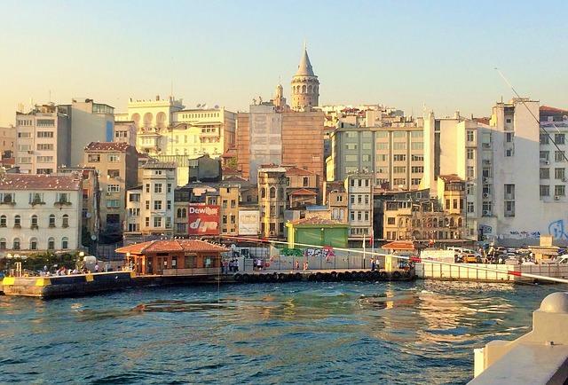 トルコの町並み(イスタンブール)