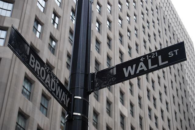 NY・ウォールストリート