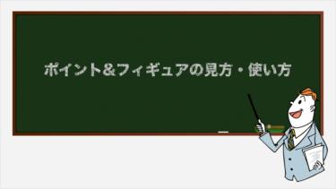 ポイント&フィギュア(P&F)の見方・使い方【テクニカル指標・トレンド系】