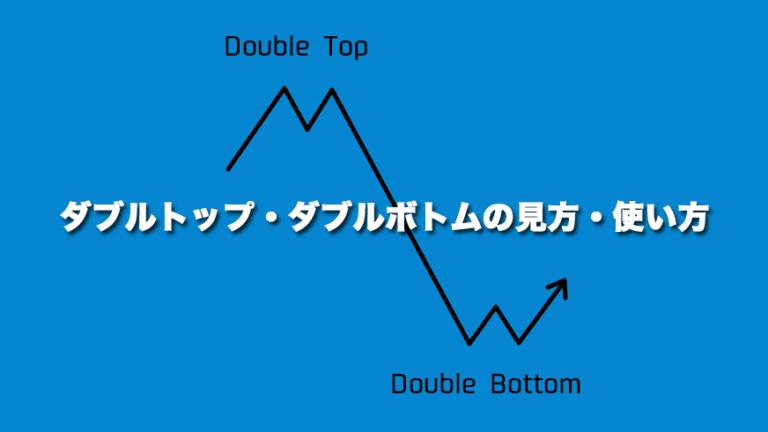 ダブルトップ・ダブルボトムの見方・使い方
