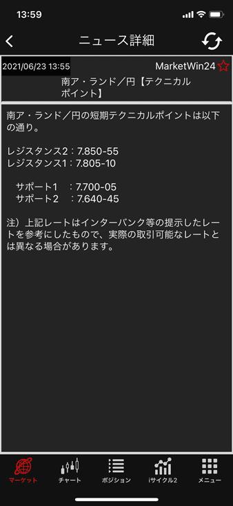 外為オンライン スマホアプリのニュース詳細
